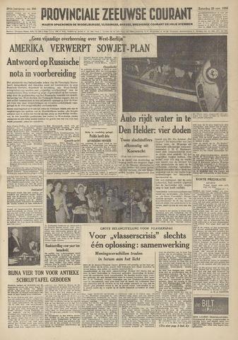 Provinciale Zeeuwse Courant 1958-11-29
