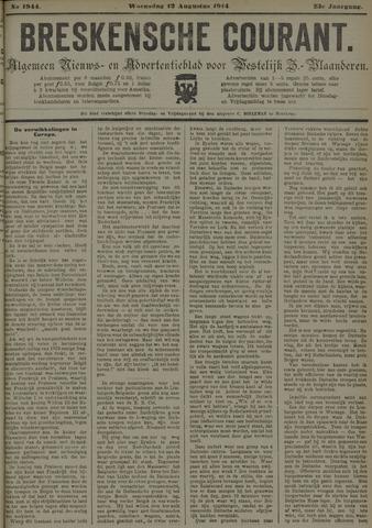 Breskensche Courant 1914-08-12