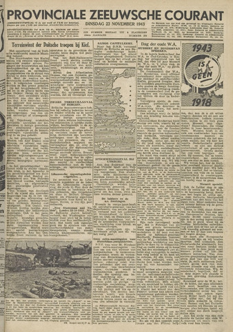 Provinciale Zeeuwse Courant 1943-11-23