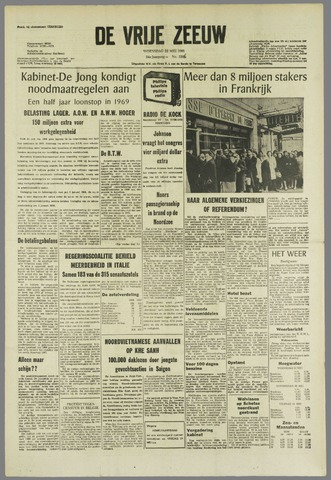 de Vrije Zeeuw 1968-05-22