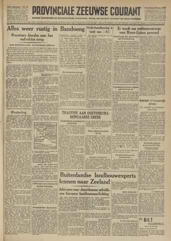 Provinciale Zeeuwse Courant 1950-01-25