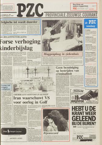 Provinciale Zeeuwse Courant 1987-08-22