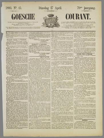 Goessche Courant 1883-04-17