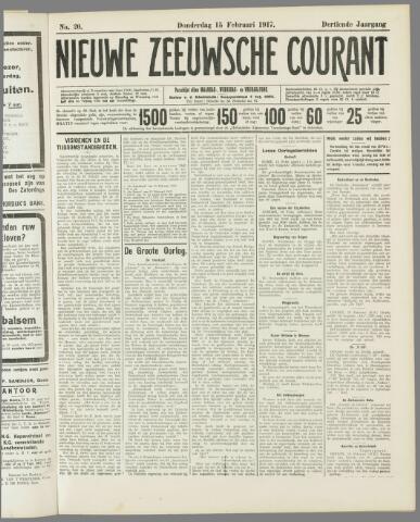 Nieuwe Zeeuwsche Courant 1917-02-15