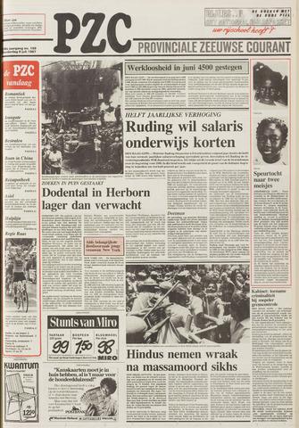 Provinciale Zeeuwse Courant 1987-07-09