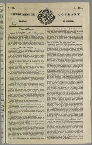Zierikzeesche Courant 1844-10-25