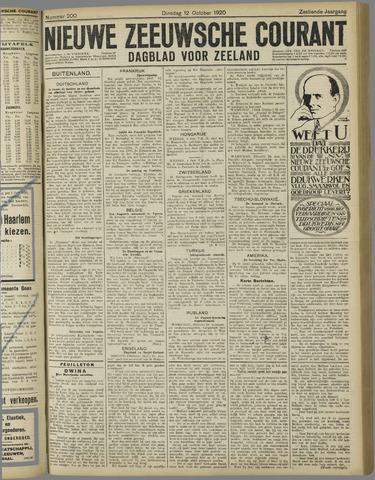 Nieuwe Zeeuwsche Courant 1920-10-12