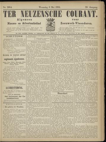 Ter Neuzensche Courant. Algemeen Nieuws- en Advertentieblad voor Zeeuwsch-Vlaanderen / Neuzensche Courant ... (idem) / (Algemeen) nieuws en advertentieblad voor Zeeuwsch-Vlaanderen 1885-05-06