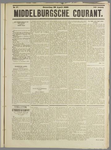 Middelburgsche Courant 1925-04-25