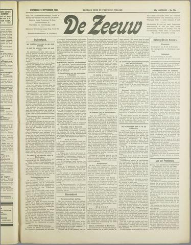 De Zeeuw. Christelijk-historisch nieuwsblad voor Zeeland 1934-09-05