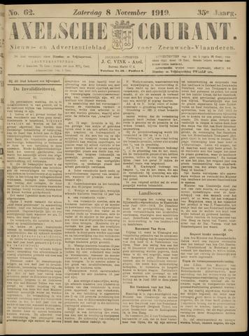 Axelsche Courant 1919-11-08