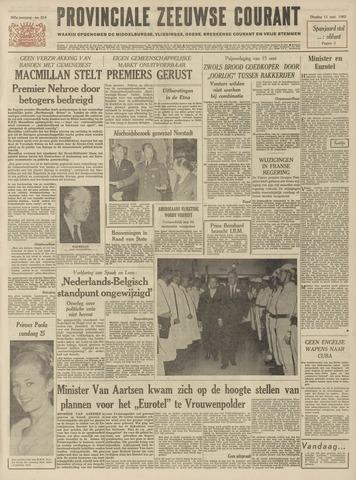 Provinciale Zeeuwse Courant 1962-09-11