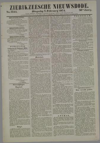 Zierikzeesche Nieuwsbode 1874-02-03