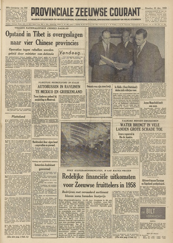 Provinciale Zeeuwse Courant 1958-12-23