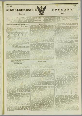 Middelburgsche Courant 1846-04-11