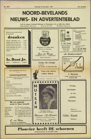 Noord-Bevelands Nieuws- en advertentieblad 1961-12-23