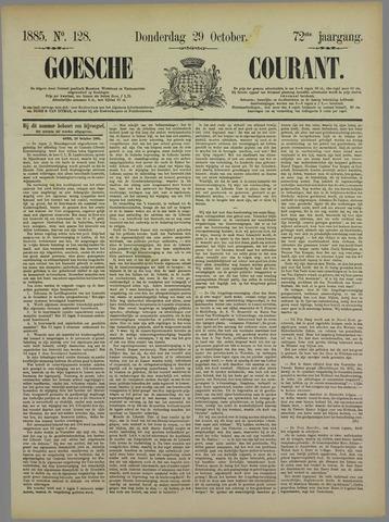Goessche Courant 1885-10-29