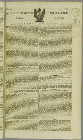 Middelburgsche Courant 1825-03-31