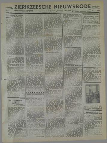 Zierikzeesche Nieuwsbode 1944-01-27