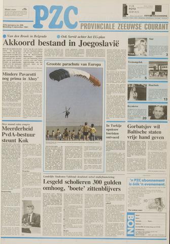 Provinciale Zeeuwse Courant 1991-09-02