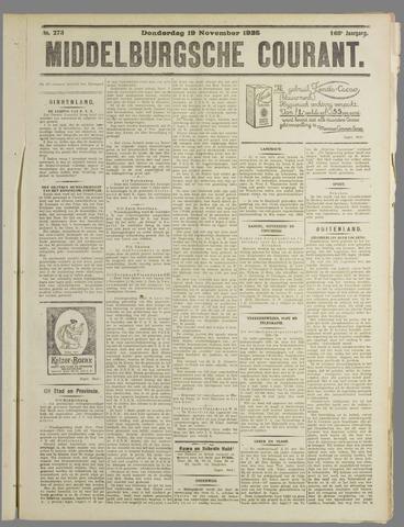 Middelburgsche Courant 1925-11-19