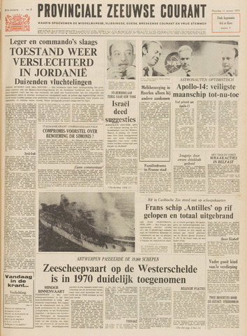 Provinciale Zeeuwse Courant 1971-01-11