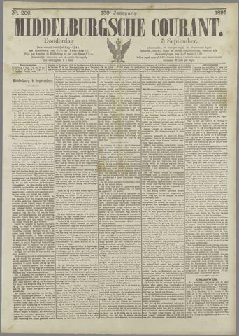 Middelburgsche Courant 1895-09-05