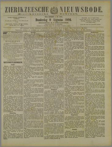 Zierikzeesche Nieuwsbode 1906-08-09