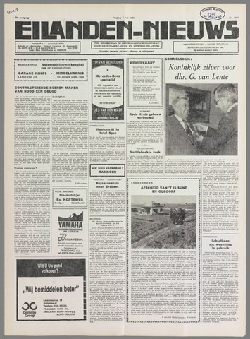Eilanden-nieuws. Christelijk streekblad op gereformeerde grondslag 1978-05-05