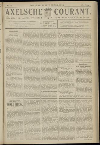 Axelsche Courant 1924-09-23