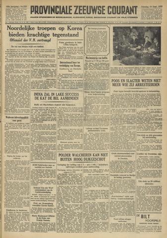 Provinciale Zeeuwse Courant 1950-09-19