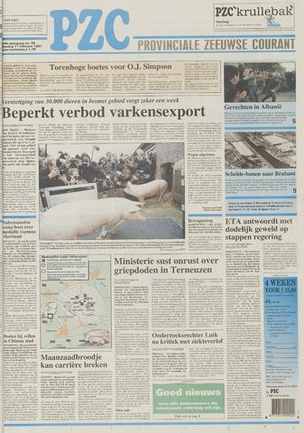 Provinciale Zeeuwse Courant 1997-02-11