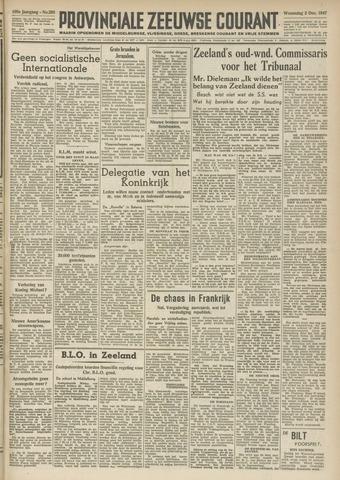 Provinciale Zeeuwse Courant 1947-12-03