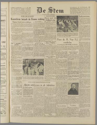 de Stem 1948-10-12
