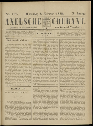 Axelsche Courant 1888-02-08