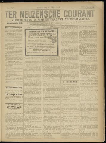 Ter Neuzensche Courant. Algemeen Nieuws- en Advertentieblad voor Zeeuwsch-Vlaanderen / Neuzensche Courant ... (idem) / (Algemeen) nieuws en advertentieblad voor Zeeuwsch-Vlaanderen 1926-05-24