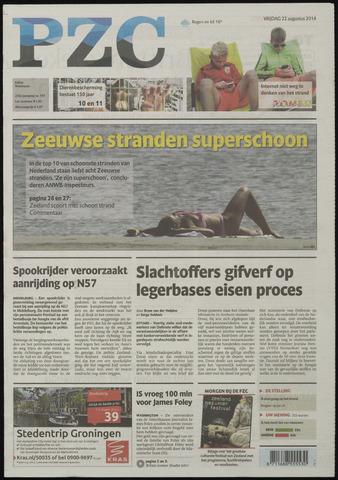 Provinciale Zeeuwse Courant 2014-08-22