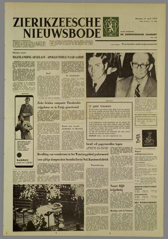 Zierikzeesche Nieuwsbode 1970-04-14