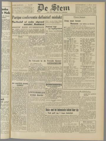 de Stem 1947-07-03