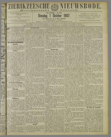 Zierikzeesche Nieuwsbode 1907-10-01