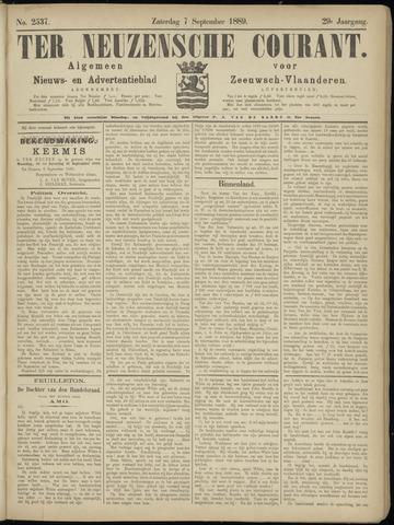 Ter Neuzensche Courant. Algemeen Nieuws- en Advertentieblad voor Zeeuwsch-Vlaanderen / Neuzensche Courant ... (idem) / (Algemeen) nieuws en advertentieblad voor Zeeuwsch-Vlaanderen 1889-09-07