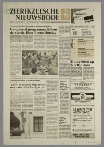 Zierikzeesche Nieuwsbode 1991-08-02