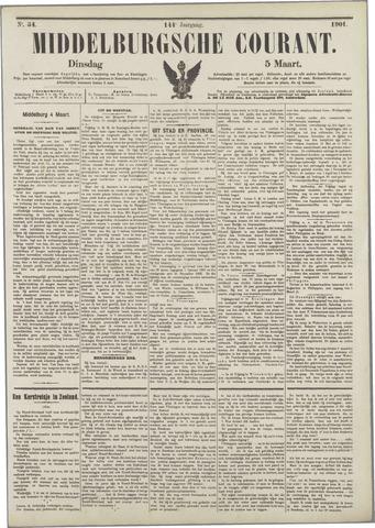 Middelburgsche Courant 1901-03-05