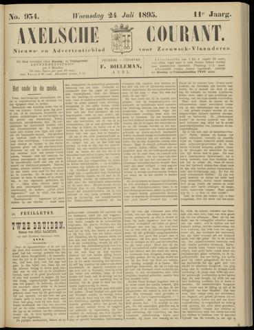 Axelsche Courant 1895-07-24