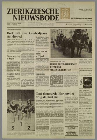 Zierikzeesche Nieuwsbode 1975-04-14