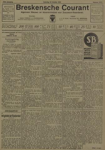 Breskensche Courant 1930-10-25