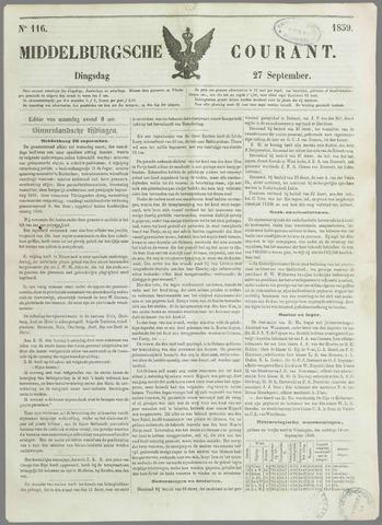 Middelburgsche Courant 1859-09-27