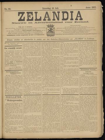 Zelandia. Nieuws-en advertentieblad voor Zeeland | edities: Het Land van Hulst en De Vier Ambachten 1902-07-19