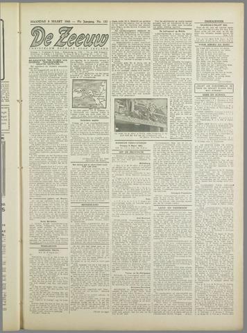 De Zeeuw. Christelijk-historisch nieuwsblad voor Zeeland 1943-03-08