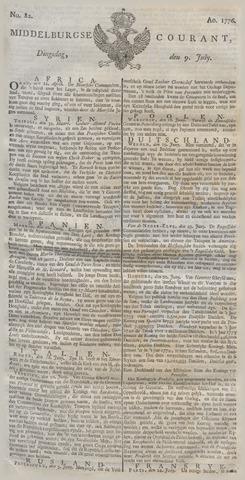 Middelburgsche Courant 1776-07-09